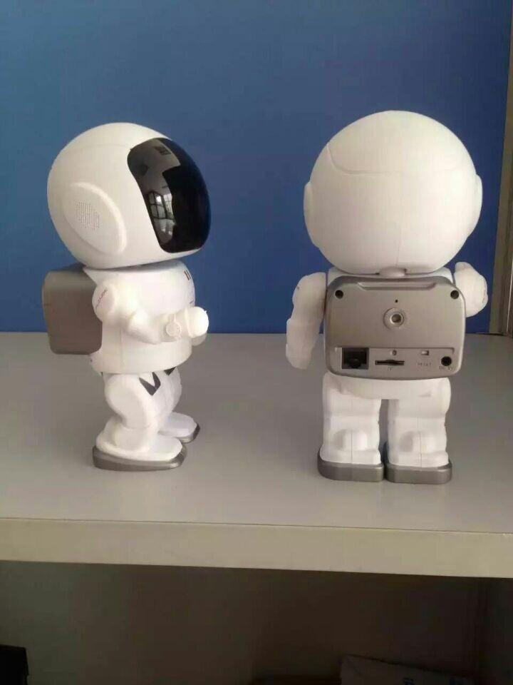 720P HD Robot Camera Baby Monitor WiFi IP Camera Home Security Camera Night Vision CCTV Cam(China (Mainland))