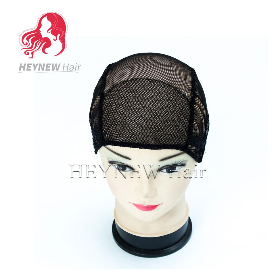 Здесь можно купить  Wholesale black women hair net adjustable lace wig cap for wig making stretch weaving cap 10pcs Lot Free Shipping  Волосы и аксессуары