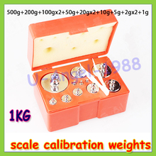 Buy 12pcs 1010g Gram 1.1kg Balance Calibration Scale Weight Set Test Measure 10g 20g 50g 100g 200g 500g register Wholesale for $32.13 in AliExpress store