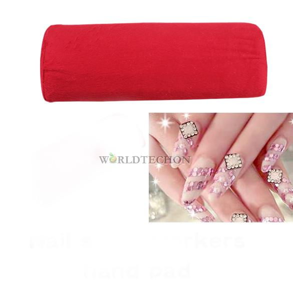 W7Tn New Soft Hand Cushion Pillow Rest Nail Art Manicure Art Cube Accessory(China (Mainland))