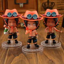 3pcs 11cm One Piece action figures toys pvc kids toys anime One Piece luffy model dolls movie luffy figure toy higt quality