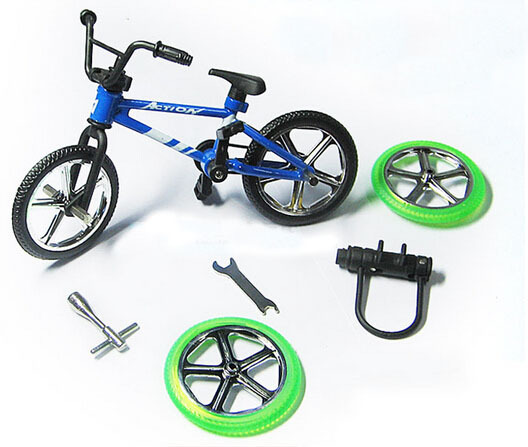 Alloy Finger Bikes Extreme Sports BMX Bike Model Toy juguete With DIY Tool Children's Day Toys Novelty Gadgets Kid Gift(China (Mainland))