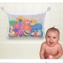 Hot Selling Kids Baby Bath Tub Toy Tidy Storage Suction Cup Bag Mesh Bathroom Organiser Net(China (Mainland))