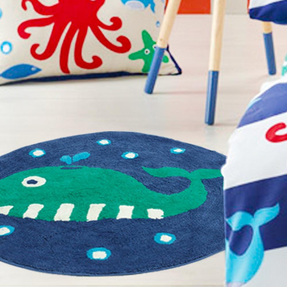 100 % katoen vloer tapijt kind cartoon, zachte kinderen tapijt met de hand gemaakte anti slip