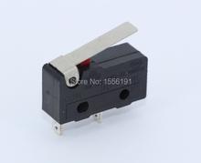10 шт. 2pin N / O 5A250VAC предел переключатель KW11-3Z Mini микро-карты переключатель сразу