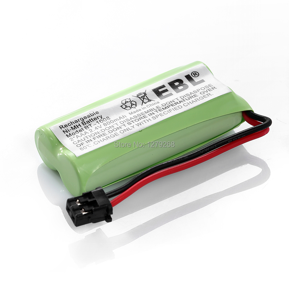 EBL2.4V 800mAh Battery FOR Cordless phone communication products for Uniden BT-1016 BT-1021 BT-1025 BT-1008S WITH43-269 WX12077(China (Mainland))