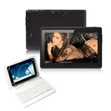Q8 7″ Tablet PC Google 16GB A33 Quad Core 1.5GHz Android 4.4  Bluetooth Wifi Tablet PC+keyboard