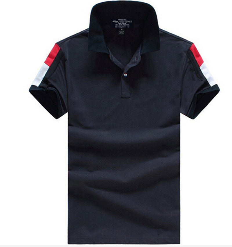 New 2016 Men's brand clothing Polo Shirt Plus Size Men Polos Men Cotton Short Sleeve shirt sports jerseys golf tennis(China (Mainland))