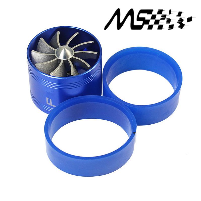 Нагнетателя турбо забора воздуха вкладчик топлива вентилятор один винт - синий высокое качество