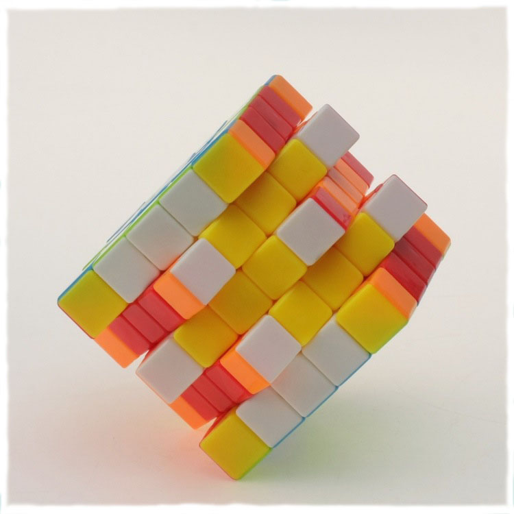 5*5*5 Professor's Cube Mixed Colors Stickerless Magico Cubo Magic Cube Puzzle Blocks Cube Challenge Educational Kids Toys 1311(China (Mainland))