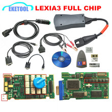 Lexia3 Full Chip Newest Diagbox V7.83 Firmware 921815C 12pcs Relays 7pcs Optocouplers Lexia 3 PP2000 For Peugeot&Citroen(China (Mainland))