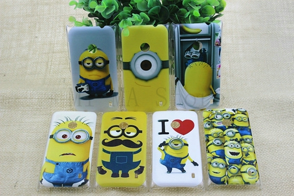 Cartoon cute species Painting case cover For Nokia Lumia 520 plastic hard thin skin for nokia N520 mobile phone case(China (Mainland))