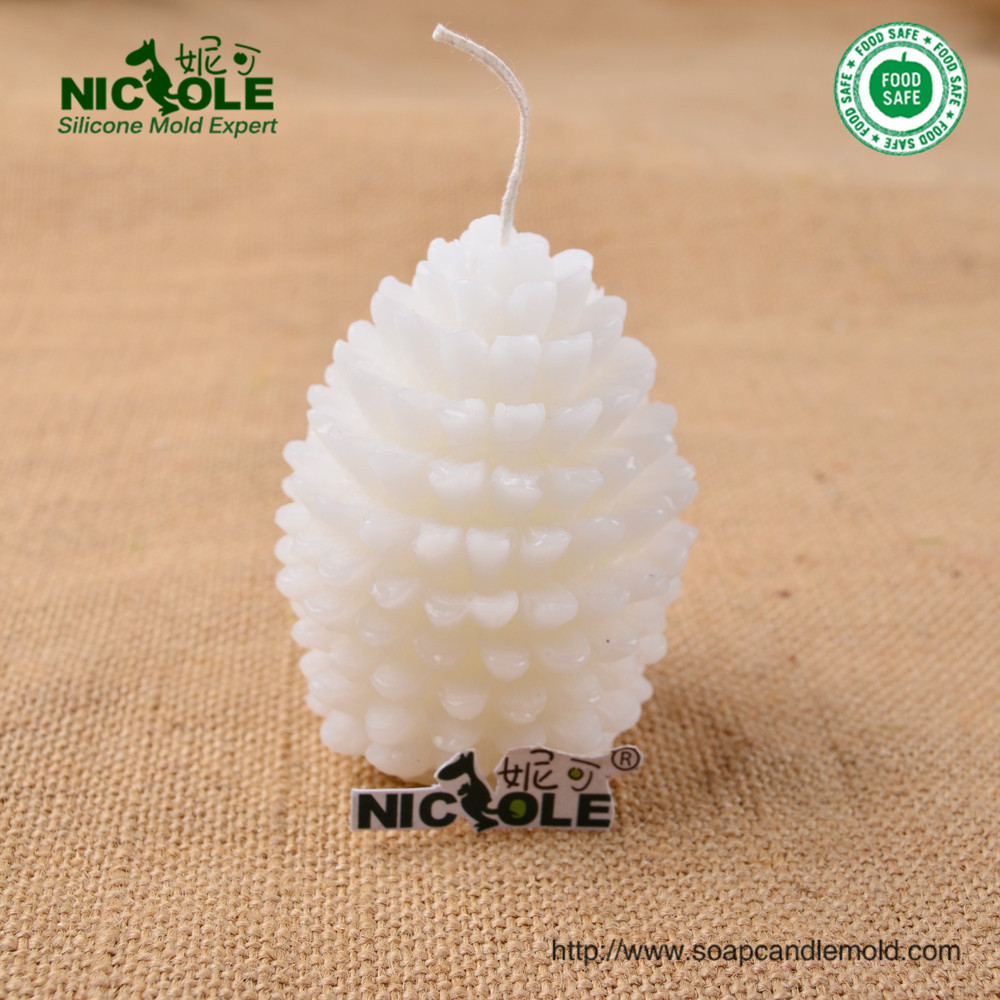 pine tree shape Silicone candle mold Handmade soap mould resin molds decoration craft(China (Mainland))