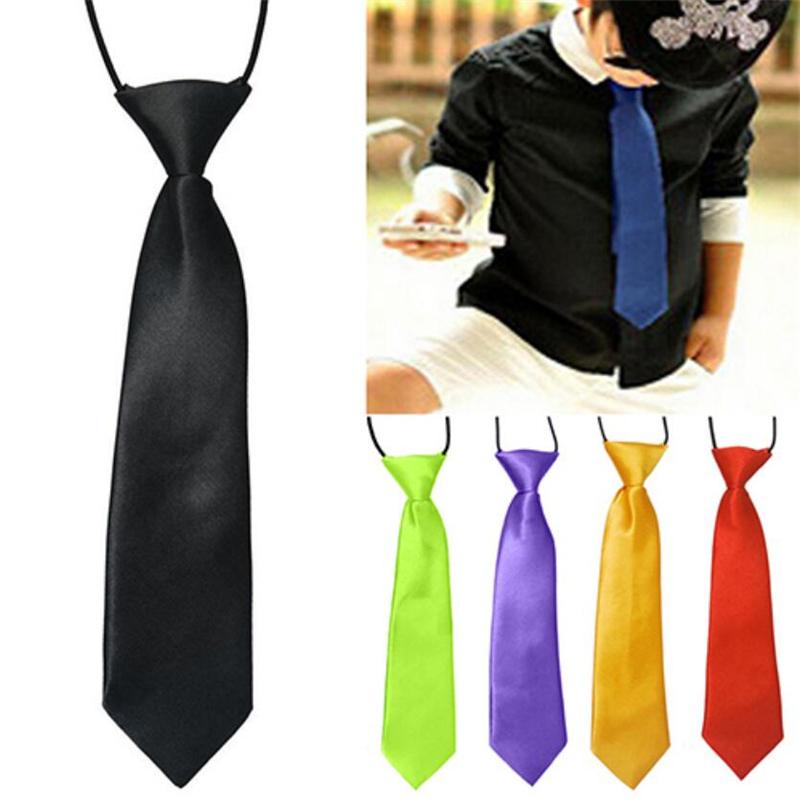 2016 Fashion School Boys neck tie Kids Children Baby Wedding Banquet Elastic Tie Necktie For Boy Gravata(China (Mainland))