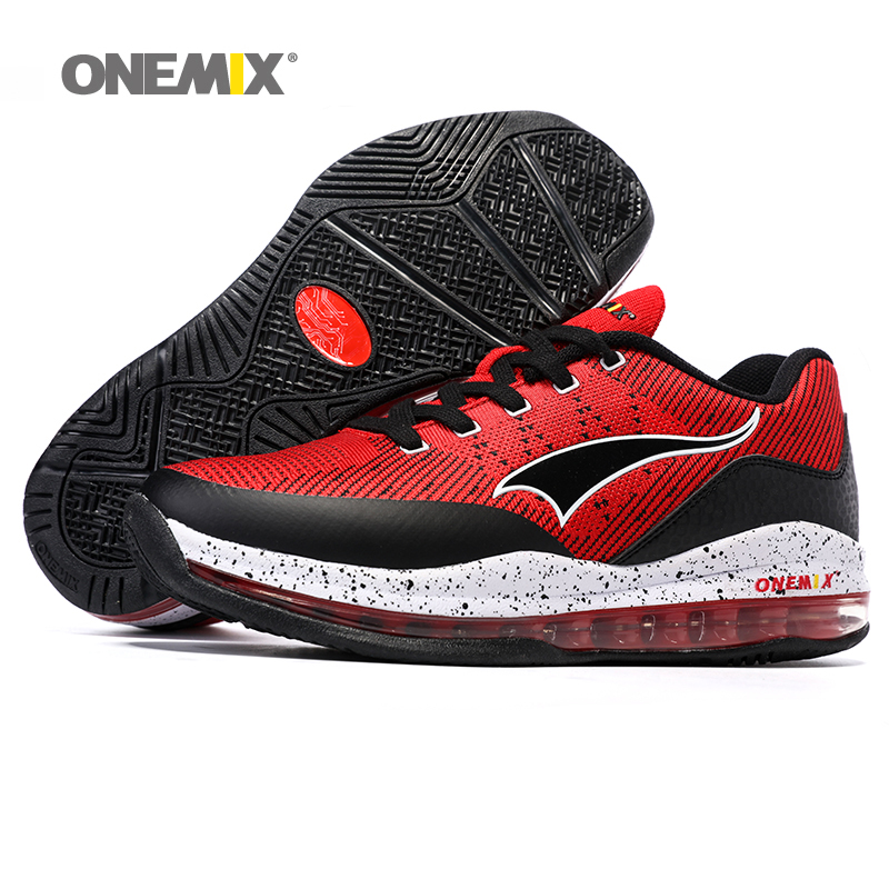 ONEMIX 2016 Men's Adult Sneakers High Quality Basketball Shoes Antiskid Basketball Boots Breathable Sport Sneakers(China (Mainland))