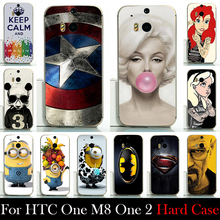 Buy FOR HTC One M8 ONE 2 Hard Plastic Mobile Phone Cover Case DIY Color Paitn Cellphone Bag Shell Free for $1.30 in AliExpress store