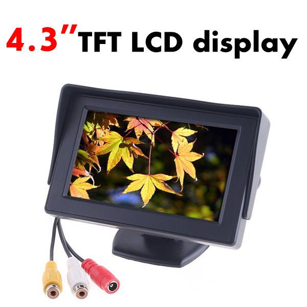 """4.3"""" TFT HD Color Monitor DVD LCD display dashboard for car rear view monitor(China (Mainland))"""