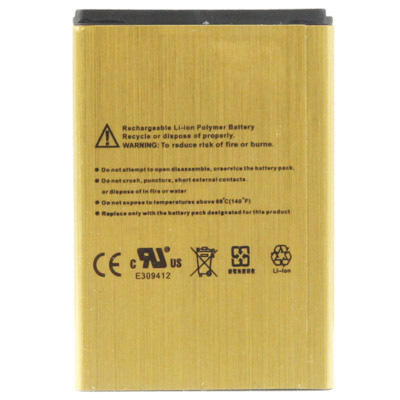 Гаджет  2450mAh High Capacity Gold Battery for Samsung I8910 B7730 S8530 W609 I929 I8180 S8500 Batterie Batterij Bateria Accumulator None Электротехническое оборудование и материалы