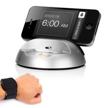 Lark Sleep Sensor Silent Vibrating Alarm Sleep Monitor Wristband Sensor for iPhone iPad Air iPod Touch Smart Phones Holder