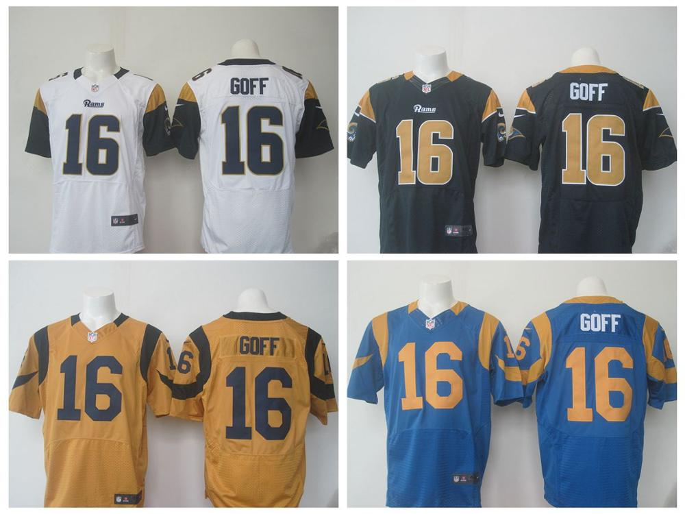 100% Stitiched,Los Angel Rams,2016 New Draft,Jared Goff,Eric Dickerson(China (Mainland))