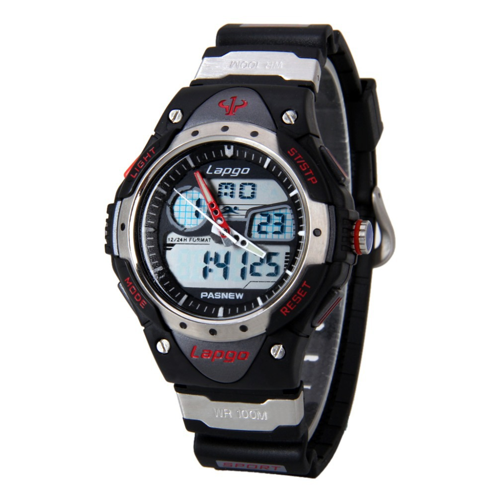 Hot Sale Pasnew Super Diving 100 Meters Waterproof Quartz Digital Led Outside Sport Watches Men Reloj Army Hombre Relojes(China (Mainland))