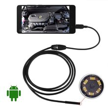 Hot 7mm Android Endoscope Waterproof Snake Borescope USB Inspection Camera 2M 5M - Sharon Stone Store store