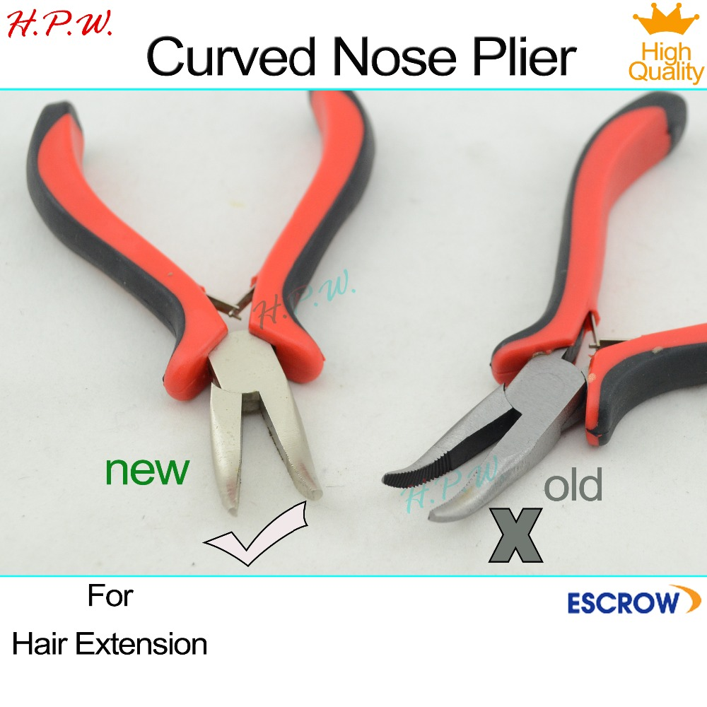 H.P.W. Wholesale 100pcs Bend tip pliers/clamp micro loop hair extension tools for Hair Extension free shipping<br><br>Aliexpress