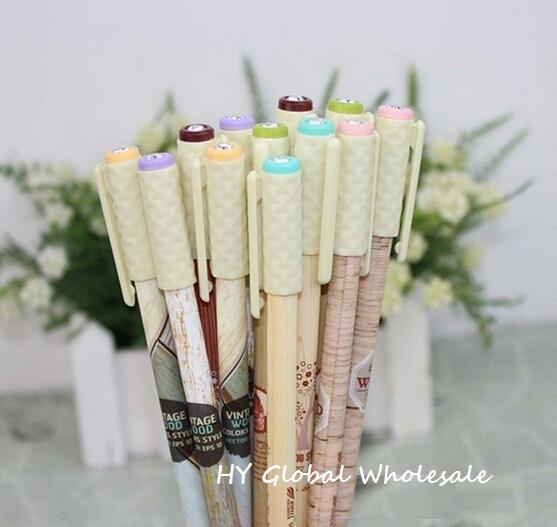 Creative Vintage Grain Flower series gel pen /Korean Style/funny gift/Free shipping/Wholesale<br><br>Aliexpress
