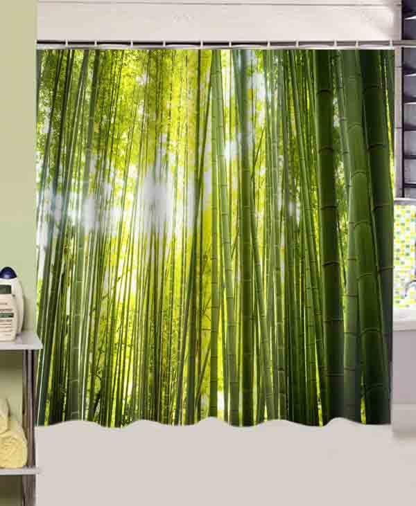 Popular Shower Curtain Bamboo Fabric-Buy Cheap Shower Curtain ...