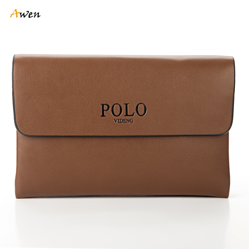 Awen 2 Size Luxury Letter Embossed Mens Day Clutch Leather Brand Hand Bag Pouch Male Large Capacity Business Evening Bag Wallet<br><br>Aliexpress