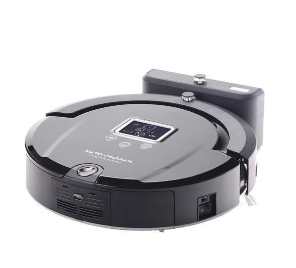 Mini Portable Wireless Vacuum cleaner robot with Touch Screen,Remote Control UV lamps Smart Household appliances Dust collector(China (Mainland))