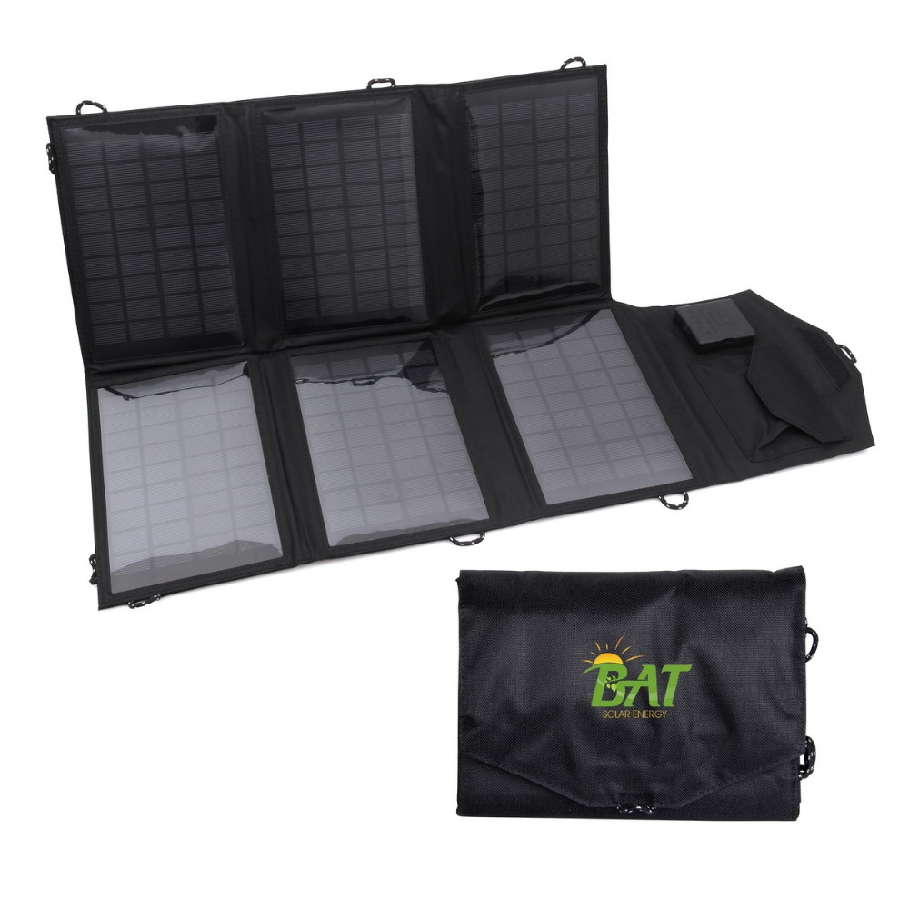 Hot Sale 21W 5V Portable Solar Panel folded Monocrystalline solar cell solar Charger USB for iphone mobile phone,digital camera(China (Mainland))