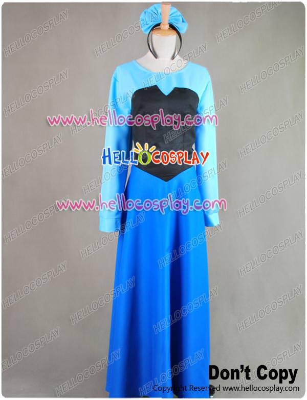 Little Mermaid Blue Dress Costume Little Mermaid Ariel Dress