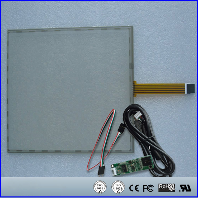 17 17inch 355x288mm 5Wire Resistive Touch Screen Panel USB Kit for 17 monitor<br><br>Aliexpress