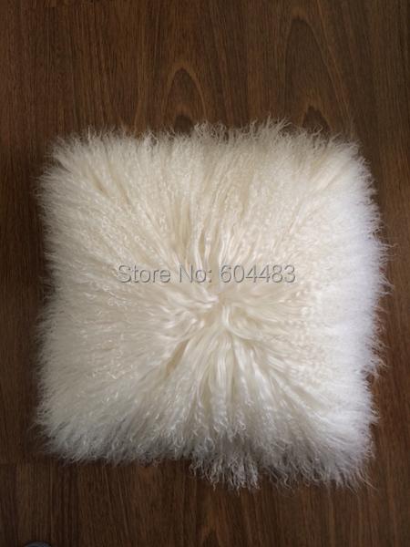 1 шт монгольские меховые подушки 40*40см Тибет кожа Подушка