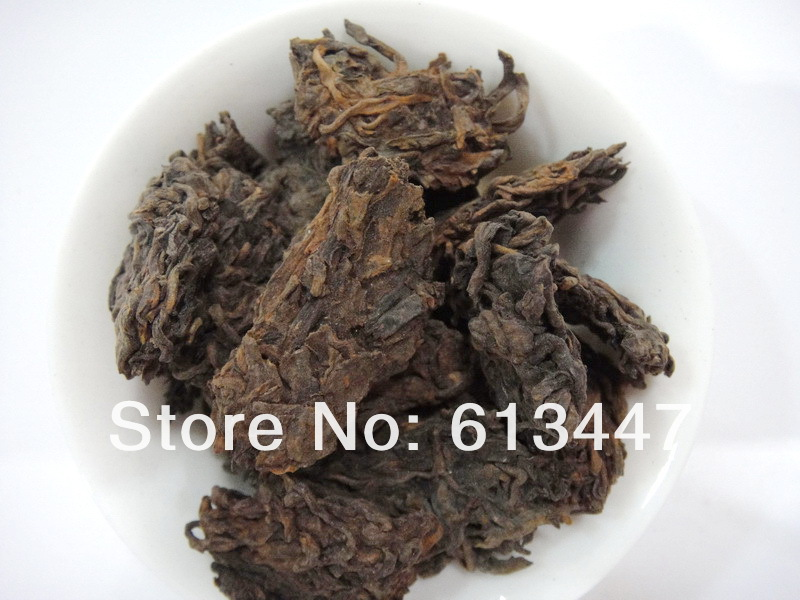 1000g Royal ripe puer tea Laochatou 2002 year loose puer tea Ripe Puerh Tea Ripe Pu