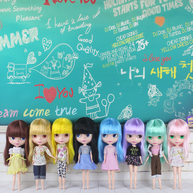 Free Shipping Top discount Basaak plastic doll DIY Blyth Doll Cheapest item Doll limited gift special price cheap offer toy(China (Mainland))