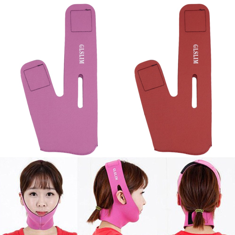 New Women Girl Wrinkle V Face Chin Cheek Lift Up Slimming Mask Belt Strap Band make you look more sexy and beautiful Quality(China (Mainland))
