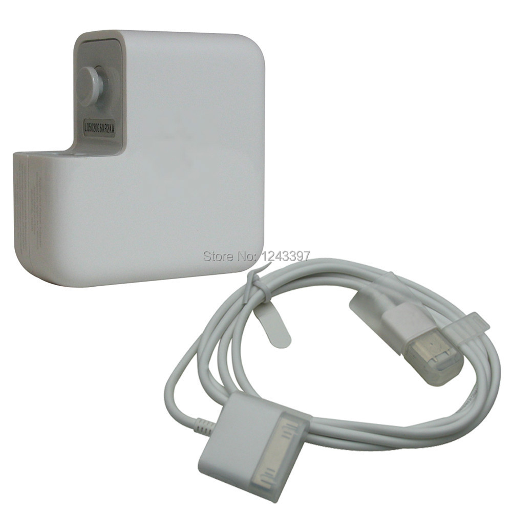 Free Shipping 1394/A1070 FireWire Power Adapter + Cable for iPhone iPod 3G 4G(China (Mainland))