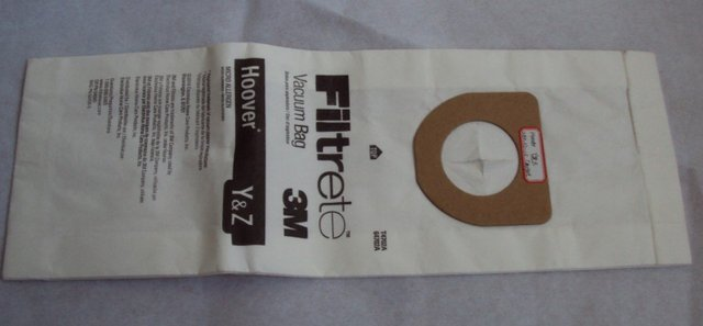 Electrolux Home Care 64702A-6 3M Filtrete Hoover Y And Z Micro Allergen Vacuum Bag