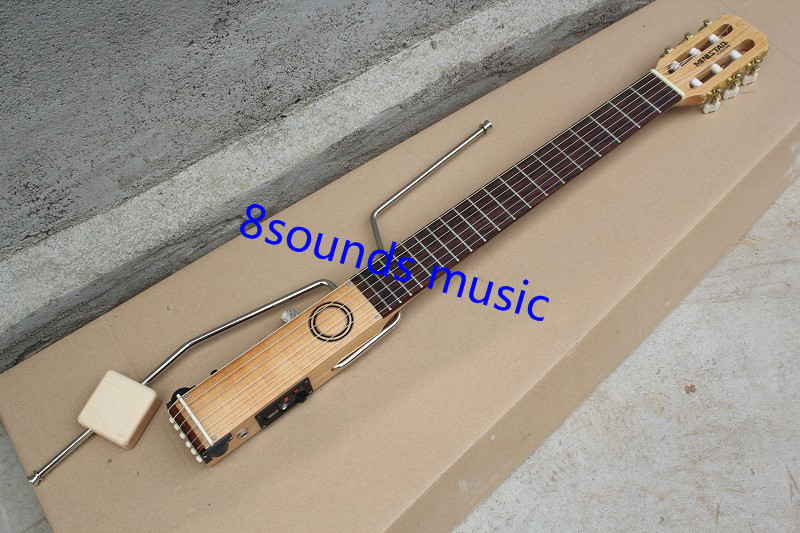 free shipping Silent Guitar, Wholesale New Arrival Ministar mini travel portable silent electric classtar guitar<br><br>Aliexpress