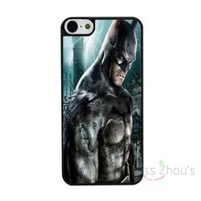 For iphone 4/4s 5/5s 5c SE 6/6s 7 plus ipod touch 4/5/6 back skins mobile cellphone cases cover Batman Arkham City