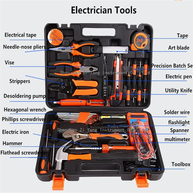Electricity Tools And Equipment List