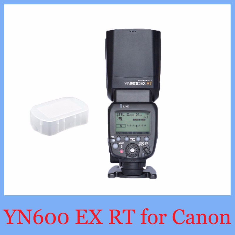 YONGNUO YN600EX-RT 2.4G YN600EX RT Wireless HSS 1/8000s Master Flash Speedlite Canon 5D 5D3 5DII better yn586ex,tr586ex