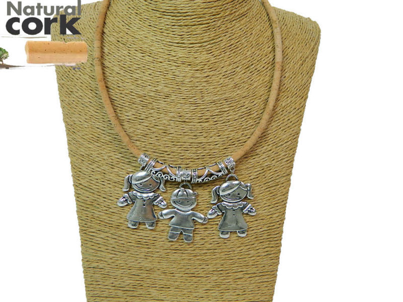 MB Cork, Portugal, cork crafts Cork necklaces, boy and girl necklace, original, natural, handmade fine jewelry<br><br>Aliexpress