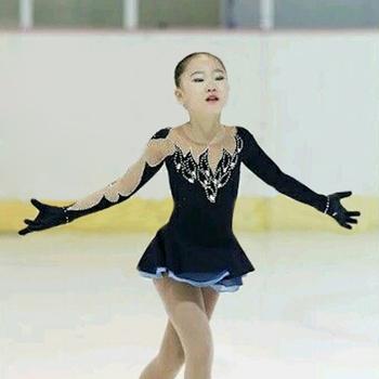 Nasinaya Figure Skating Dress Customized Competition Ice Skating Skirt for Girl Women Kids Patinaje Gymnastics Performance 78