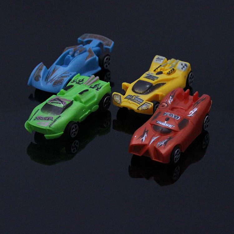 Plastic car model automobile race model paper card small automobile race WARRIOR automobile race(China (Mainland))