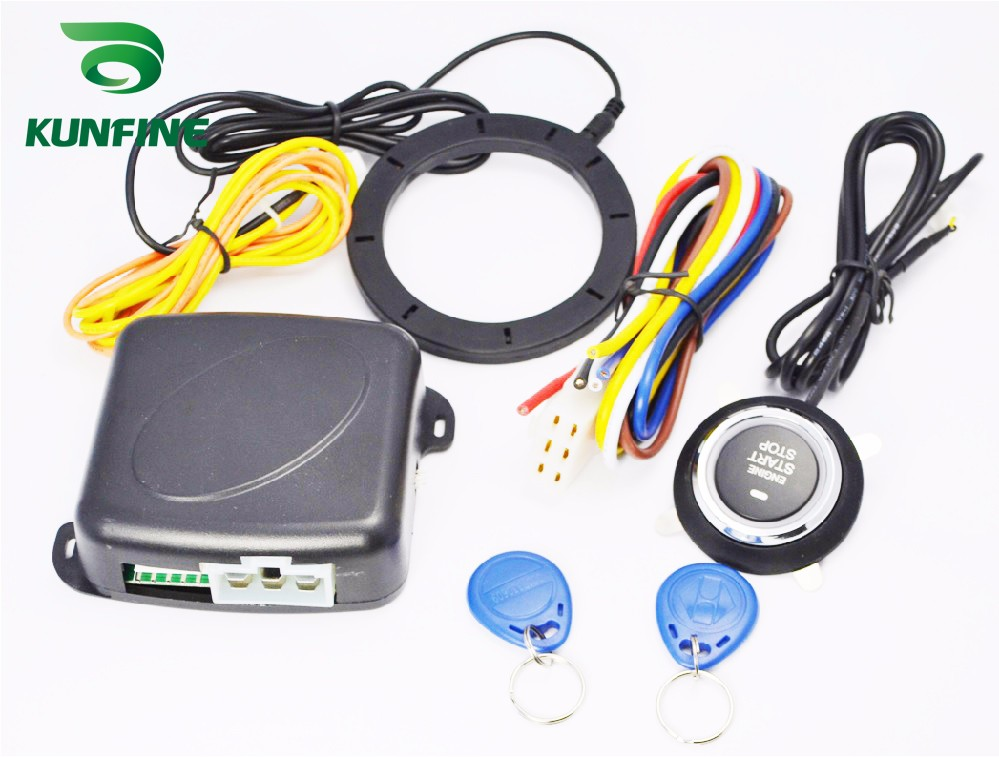 Smart Engine StartStop System With Auto Security Alarm Systems 1