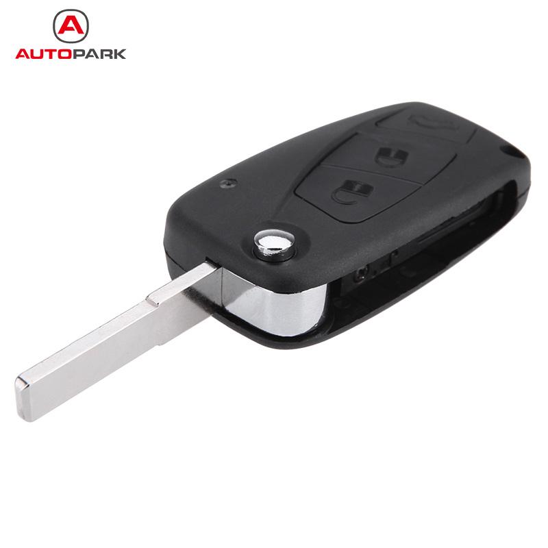 Folding Remote Key Case Cover 3 Buttons for FIAT Punto Ducato Stilo Panda Flip Fob(China (Mainland))