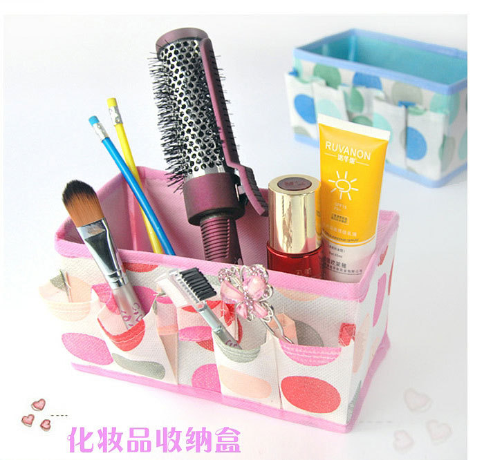 1 PC Bling Recommend Free Shipping Top Seller Flowers Woven Cosmetic Storage Box Multicolor Gift For Family F1299(China (Mainland))